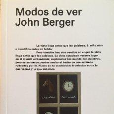 Libros: MODOS DE VER, JOHN BERGER. Lote 195061662