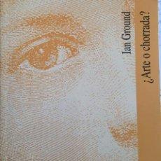 Libros: ¿ARTE O CHORRADA? IAN GROUND. PUBLICADO POR UNIVERSITAT DE VALENCIA. Lote 195113162