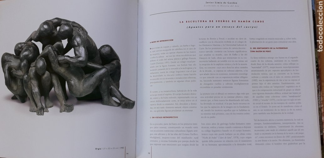 Libros: RAMÓN CONDE, ESCULTURAS 1974-2004, - Foto 7 - 198635082