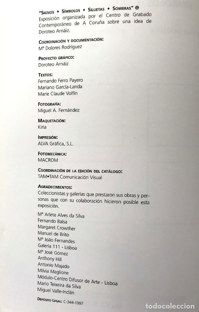 Libros: Signos - Símbolos - Siluetas - Sombras. Nouveau Realisme Nouvelle Figuration - Foto 2 - 204807353