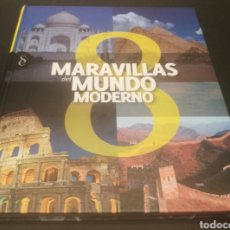 Libros: 8 MARAVILLAS DEL MUNDO MODERNO. Lote 213354596