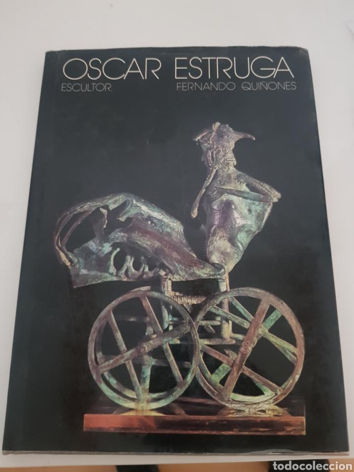 OSCAR ESTRUGA ESCULTOR 1977 (Libros Nuevos - Bellas Artes, ocio y coleccionismo - Escultura)