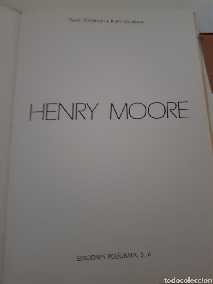 Libros: HENRY MOORE ESCULTURA DE DAVID MITCHINSON EDICION POLIGRAFA 1991 - Foto 2 - 216795400