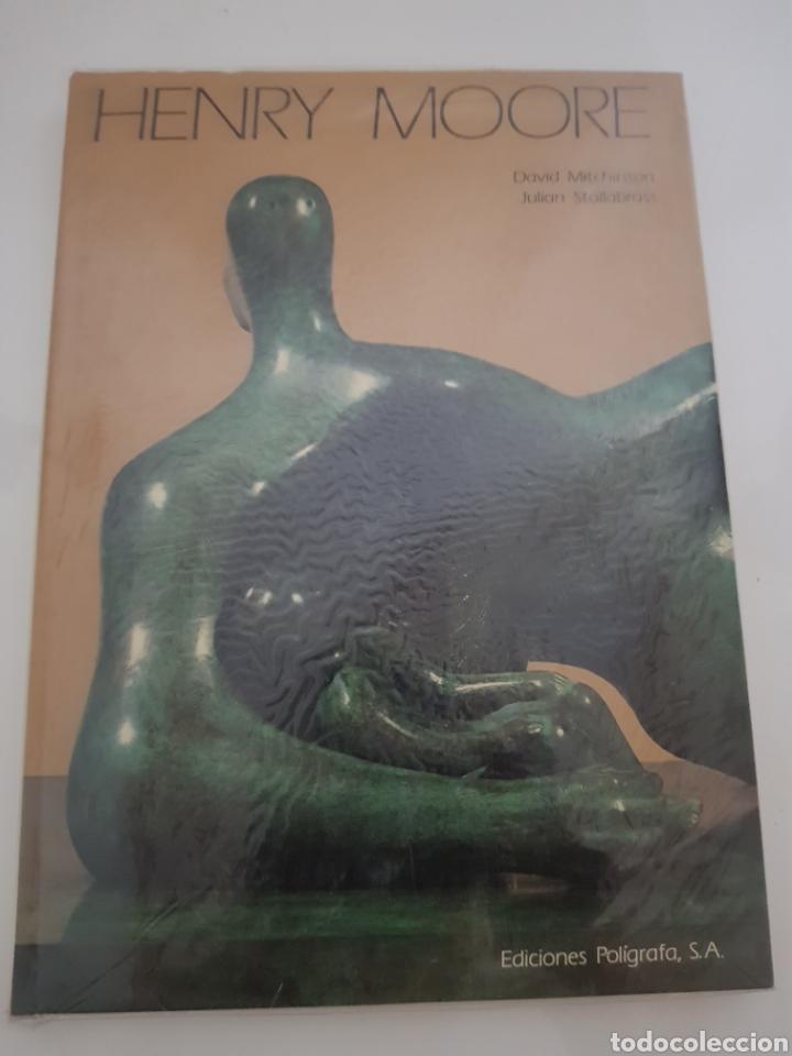 HENRY MOORE ESCULTURA DE DAVID MITCHINSON EDICION POLIGRAFA 1991 (Libros Nuevos - Bellas Artes, ocio y coleccionismo - Escultura)