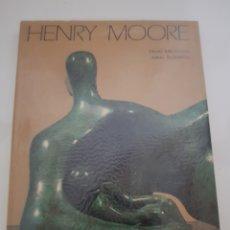 Libros: HENRY MOORE ESCULTURA DE DAVID MITCHINSON EDICION POLIGRAFA 1991. Lote 216795400