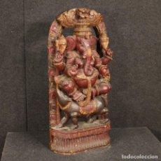 Libros: ESCULTURA DE MADERA DE LA DIVINIDAD INDIA. Lote 219196877