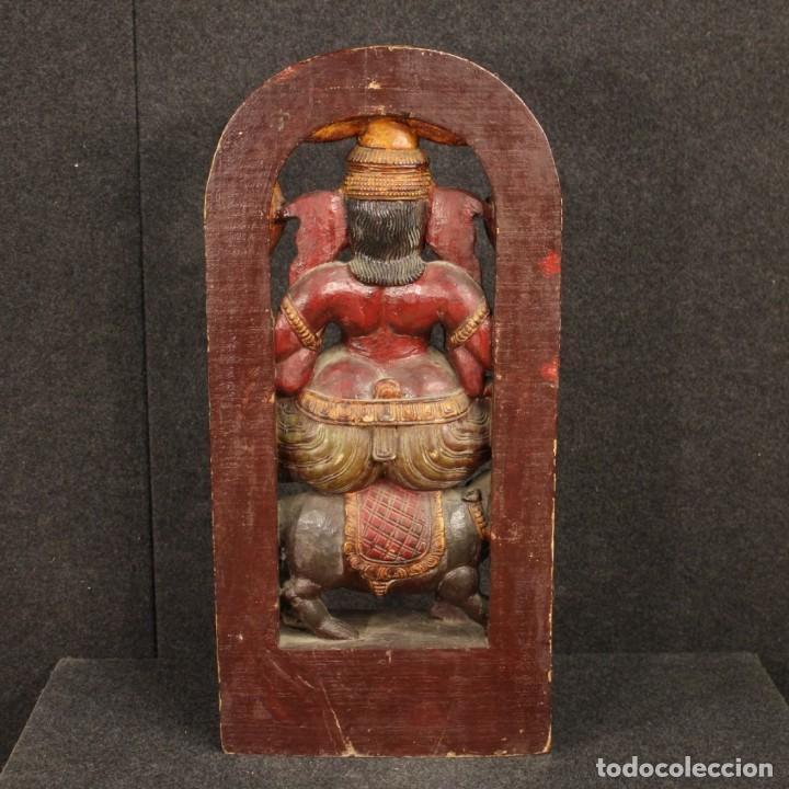 Libros: Escultura de madera de la divinidad india - Foto 7 - 219196877