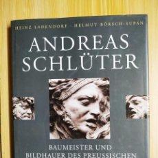 Libros: ANDREAS SCHLÜTER. Lote 225850040