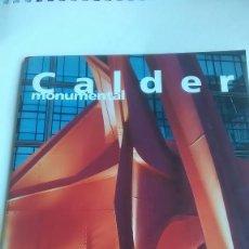 Libros: CALDER. MONUMENTAL. BEAUX ARTS MAGAZINE. 1992. Lote 234679365
