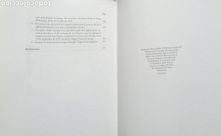 Libros: El Patrimonio Artístico Del Monasterio De Carmelitas Descalzas De Jaén. Carmen Eisman Lasaga - Foto 8 - 243637425