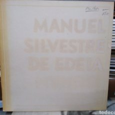 Libros: MANUEL SILVESTRE DE EDETA-ESCULTOR-1976. Lote 260064450