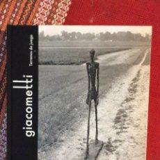 Libros: GIACOMETTI TERRENOS DE JUEGO. Lote 261255215