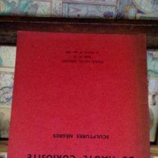 Libros: OBJETS DE HAUTE CURIOSITE,SULPTURES NEGRES. Lote 265906423