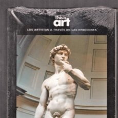 Libros: MIGUEL ÁNGEL Y LA REBELDÍA MONOGRÁFICO EDIT EL PAÍS 2020 COLE. THIS IS ART LIBRO + DVD PLASTIFICADO. Lote 284347793