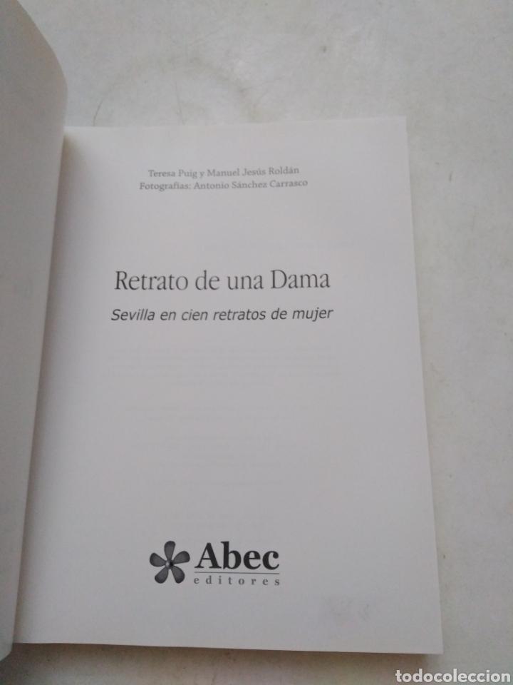 Libros: Retrato de una dama, Sevilla en cien retratos de mujer ( Abec editores ) - Foto 4 - 286979833
