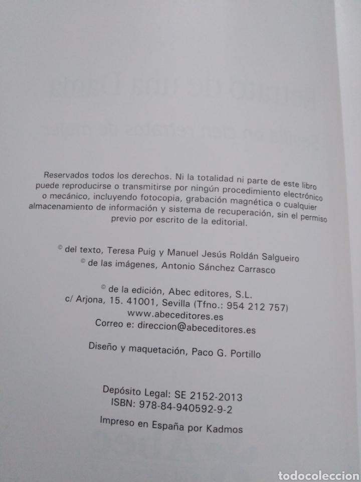 Libros: Retrato de una dama, Sevilla en cien retratos de mujer ( Abec editores ) - Foto 5 - 286979833