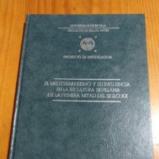 Libros: IS-32 UNIVERSIDAD DE SEVILLA FACULTAD DE BELLAS ARTES TAPA DURA 119 PAG. MEDIDAS 30X22 NUEVO ILUSTR. Lote 292107933