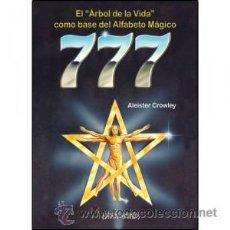 Libros: ALEISTER CROWLEY-777-LIBRO-OCULTISMO. Lote 90833247