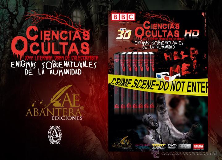 Libros: CIENCIAS OCULTAS - ENIGMAS SOBRENATURALES DE LA HUMANIDAD - Editorial Abantera ¡SOLO LIBROS! (2012) - Foto 2 - 143639641