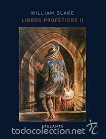 LIBROS PROFÉTICOS II WILLIAM BLAKE GASTOS DE ENVIO GRATIS (Libros Nuevos - Humanidades - Esoterismo (astrología, tarot, ufología, etc.))