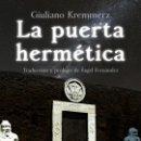 Libros: LA PUERTA HERMÉTICA . Lote 161244261