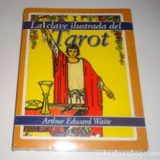 Libros: LA CLAVE ILUSTRADA DEL TAROT, LA-78 CARTAS POR WAITE ARTHUR . Lote 96440979
