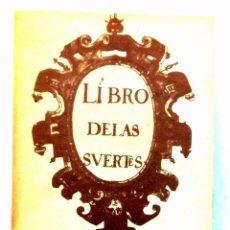 Libros: LIBRO DE LAS SUERTES. Lote 98387343