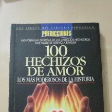 Libros: «100 HECHIZOS DE AMOR». Lote 104725304