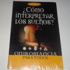 Libros: ¿COMO INTERPRETAR LOS SUEÑOS? ONIROMANCIA PARA TODOS. Lote 108298275