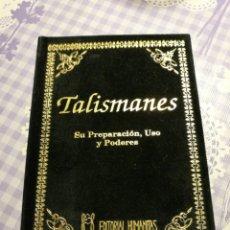 Libros: TALISMANES - EDITORIAL HUMANITAS. Lote 115510656