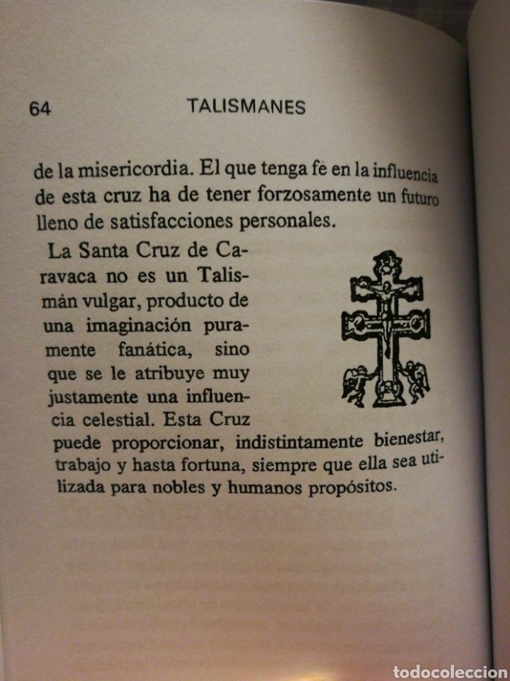 Libros: Talismanes - Editorial Humanitas - Foto 5 - 115510656