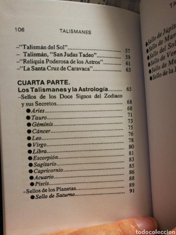 Libros: Talismanes - Editorial Humanitas - Foto 7 - 115510656