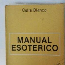 Libros: MANUAL ESOTERICO. Lote 122705515