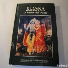 Libros: KRISNA. LA FUENTE DEL PLACER. NUEVO. 1994. Lote 131196288