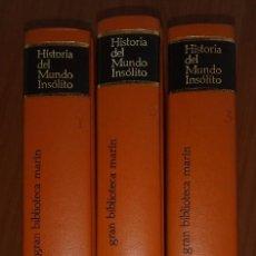 Libros: HISTORIA DEL MUNDO INSÓLITO (EDICIÓN 1973). Lote 131487046