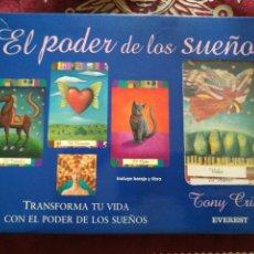 Libros: EL PODER DE LOS SUEÑOS. TONY CRISP.. Lote 135130505