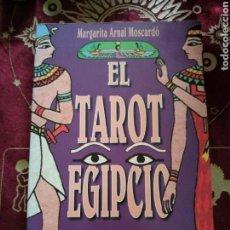 Libros: EL TAROT EGIPCIO. MARGARITA ARNAL MOSCARDÓ. ED. OBELISCO. Lote 174280668