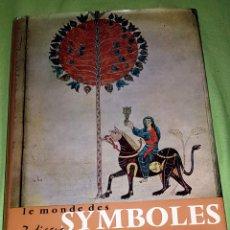 Libros: LE MONDE DES ZODIAQUE SYMBOLES. Lote 151431634