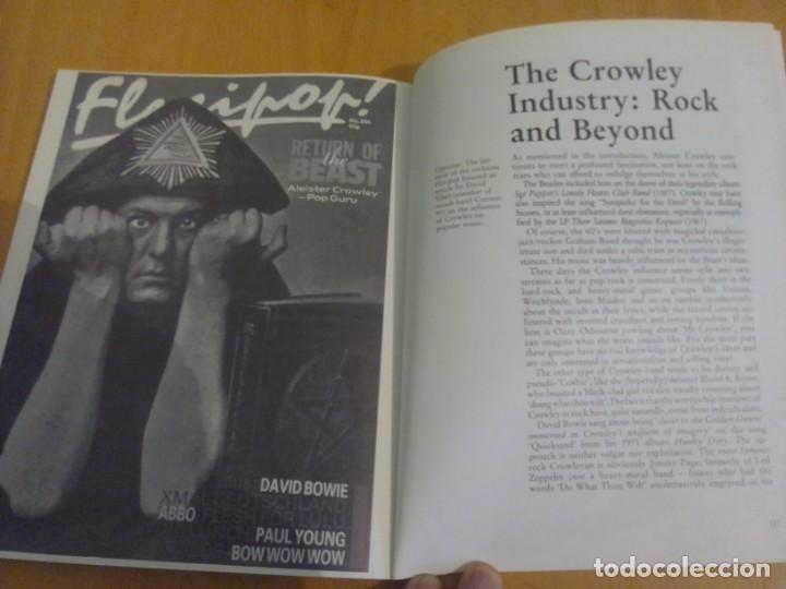 Libros: THE ILLUSTRATED BEAST. THE ALEISTER CROWLEY SCRAPBOOK - SANDY ROBERTSON - WEISER BOOKS - Foto 3 - 152327658