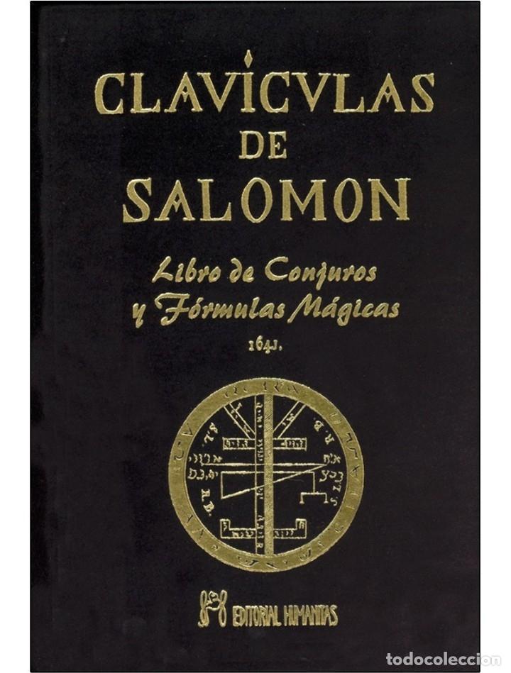LAS CLAVICULAS DE SALOMON LUJOSAMENTE ENCUADERNADO (Libros Nuevos - Humanidades - Esoterismo (astrología, tarot, ufología, etc.))