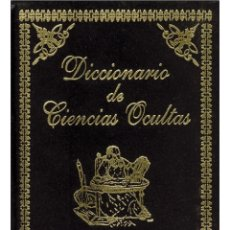 Libros: DICCIONARIO-DE-CIENCIAS-OCULTAS LUJOSAMENTE ENCUADERNADO. Lote 178580588