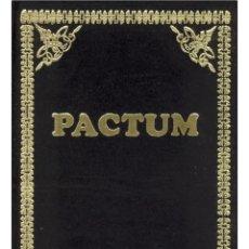 Libros: PACTUM-LIBRO DE OCULTISMO. Lote 202956737