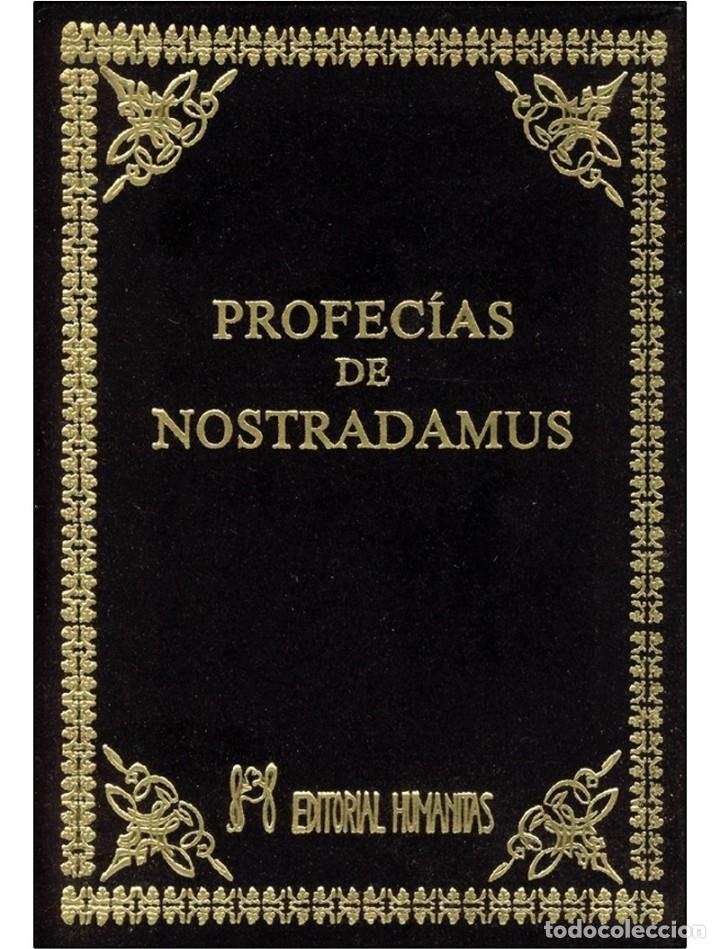 LAS PROFECÍAS DE NOSTRADAMUS,EN TERCIOPELO NEGRO (Libros Nuevos - Humanidades - Esoterismo (astrología, tarot, ufología, etc.))