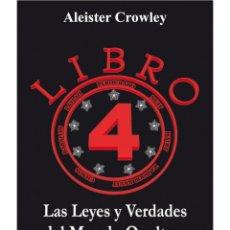 Libros: ALEISTER CROWLEY- LIBRO 4. Lote 178592018