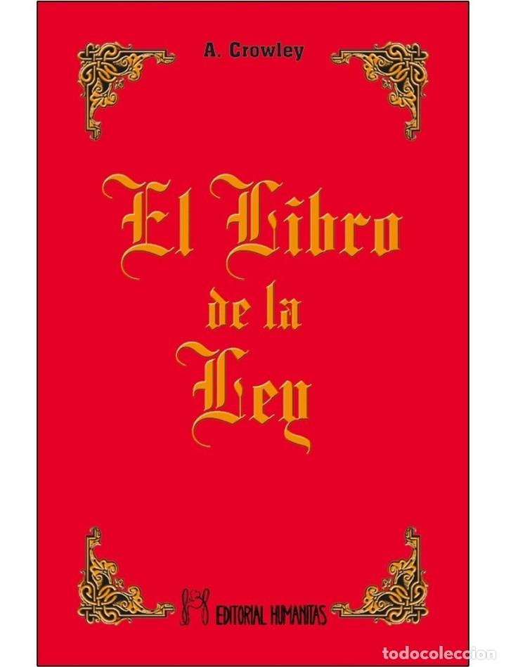 ALEISTER CROWLEY- EL LIBRO DE LA LEY (SUPERVENTAS) (Libros Nuevos - Humanidades - Esoterismo (astrología, tarot, ufología, etc.))