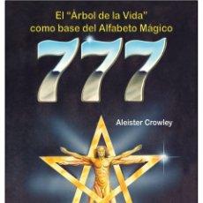 Libros: ALEISTER CROWLEY -LIBRO 777-OCULTISMO. Lote 178592815