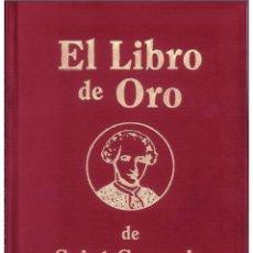 Libros: EL LIBRO DE ORO ( CONDE DE SAINT GERMAIN). Lote 178594923