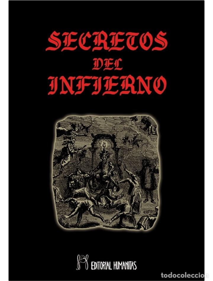 LOS SECRETOS-DEL-INFIERNO-LIBRO DE OCULTISMO (Libros Nuevos - Humanidades - Esoterismo (astrología, tarot, ufología, etc.))
