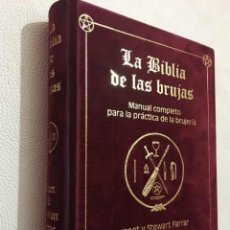 Libros: LA BIBLIA DE LAS BRUJAS-ESTUPENDO COMPENDIO DE WICCA Y BRUJERIA. Lote 209826187