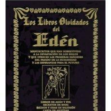 Libros: LOS LIBROS-OLVIDADOS-DEL-EDEN-TAPA DURA-TERCIOPELO NEGRO. Lote 178673518